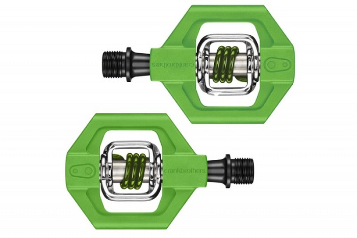 Pedale crank brothers 1 verde