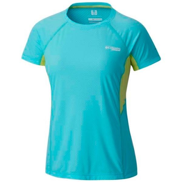 Large tricou femei columbia titan ultra short sleeve