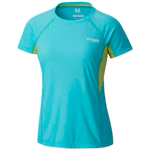 Tricou femei columbia titan ultra short sleeve