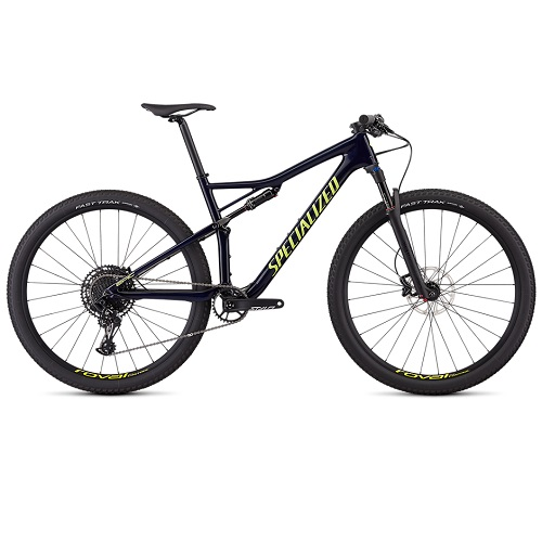 Bicicleta specialized epic comp carbon gloss blue tint
