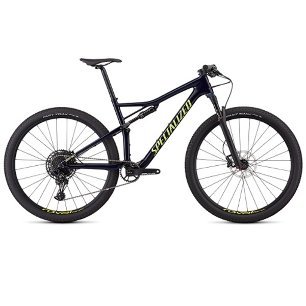 Large bicicleta specialized epic comp carbon gloss blue tint