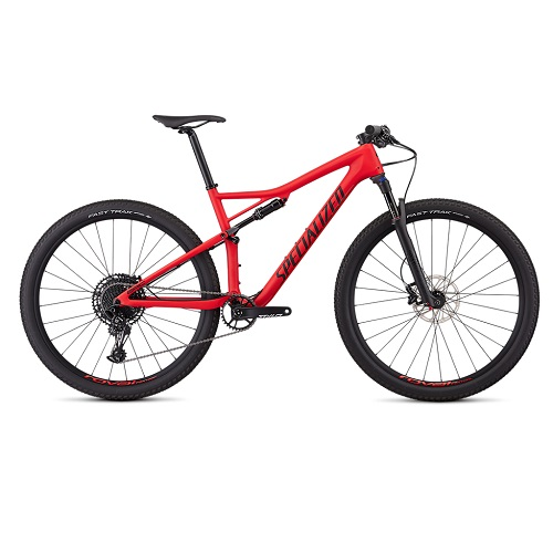 Bicicleta specialized epic comp carbon rosu satin   negru