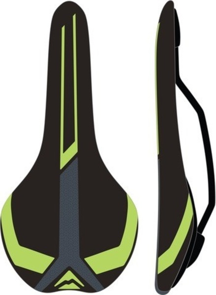 Large sa merida race negru verde