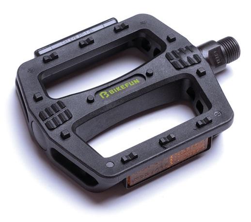 Pedale plastic bikefun negru